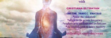 Pranic Consciousness Process  – Online Training – Cristiana Eltrayan