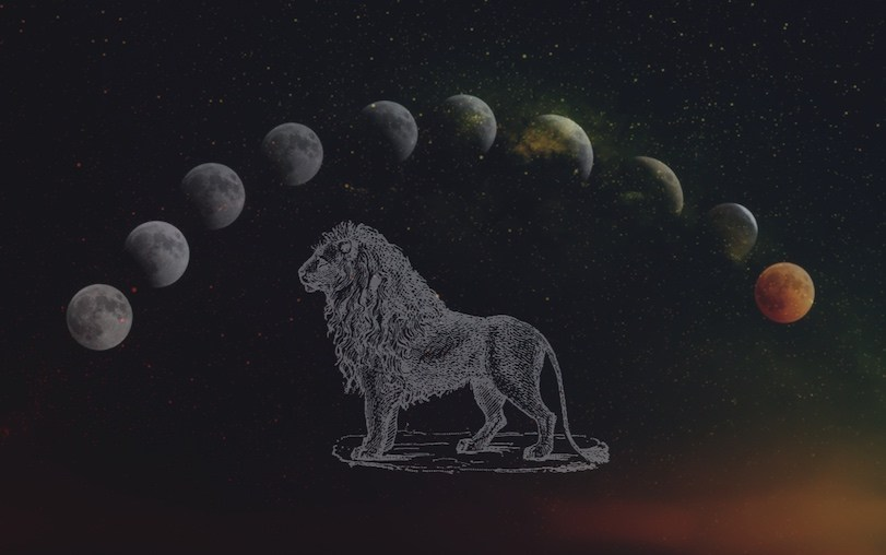 Leo Super Blood Moon Eclipse – January 2019